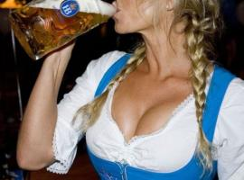 Pretty girls and beer can't miss during your stag weekend in Berlin