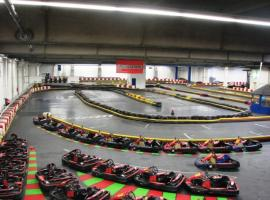 Go karting indoor area in Berlin