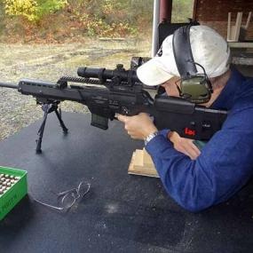 Enjoy adrenaline shooting with Heckler & Koch rifle